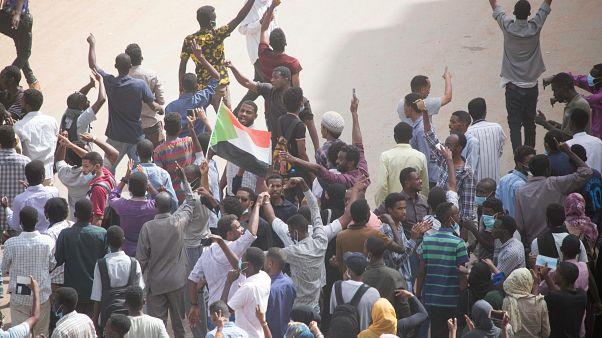 صورة أرشيفية من احتجاجات السدوان