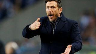 Kirúgta edzőjét az AS Roma