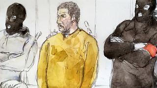 Avrupalı IŞİD'lilerin ilk cinayet davası: Nemmouche dört kişiyi öldürmekten suçlu bulundu