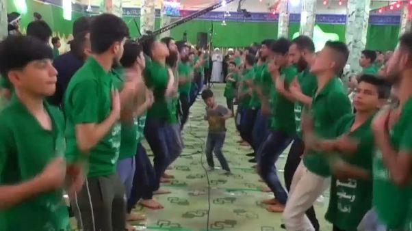 """شاهد: اللطم يجتمع مع """"الراب"""" بدعوى نصرة الدين في العراق"""