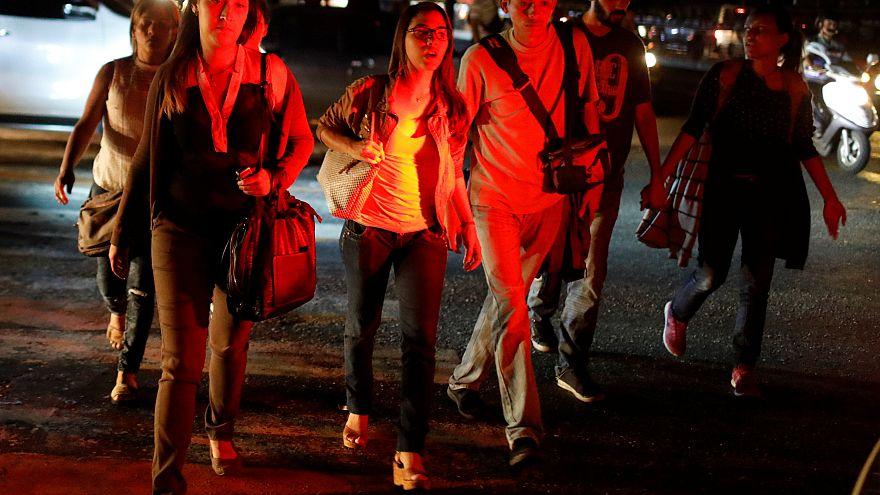 Caracas y buena parte de Venezuela a oscuras por un nuevo apagón
