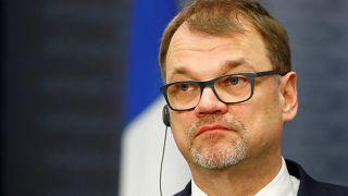 Finland's prime minister Juha Sipila