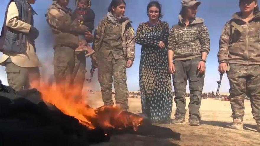 Las mujeres yazidíes recuperan su vida tras el 'infierno' del Dáesh