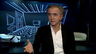 """""""Europa es hoy presa de los pirómanos"""", afirma Bernard-Henri Lévy"""