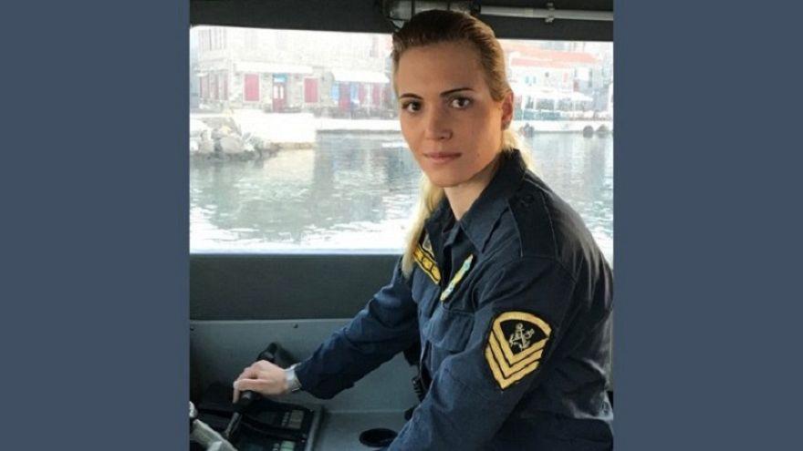 Μαρία Κόντη: Η μόνη γυναίκα κυβερνήτης σκάφους σώζει ζωές στο Αιγαίο