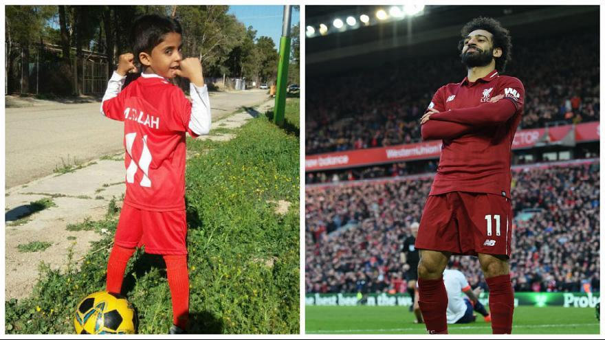 Meet the Iranian 7-year-old who found internet fame completing the Mo Sala challenge