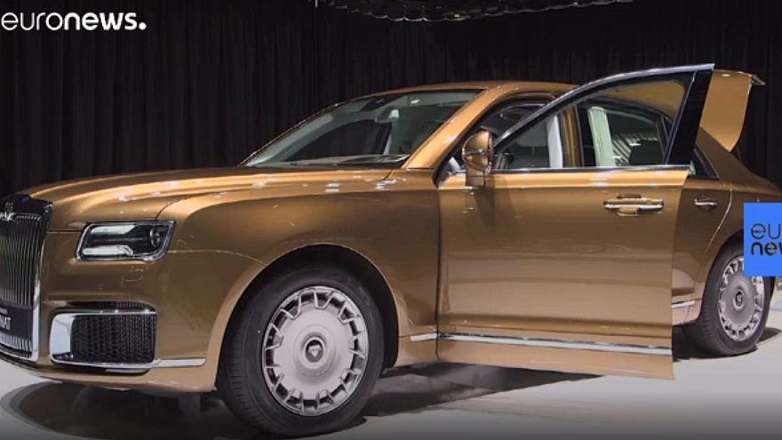 """Der Aurus Senat L700: Eine """"brutale"""" Limousine für Wladimir Putin"""