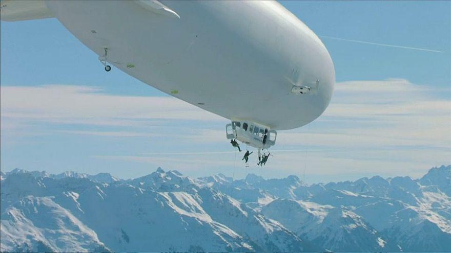 Vorarlberg: Zeppelin statt Skilift