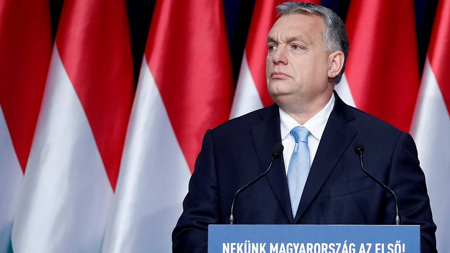 Hungarian Prime Minister Viktor Orban on February 10, 2019.