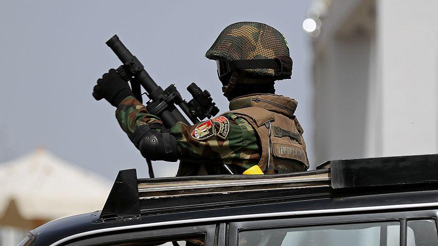صورة لأحد أفراد قوات الأمن المصرية