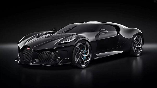 Этот прототип создан на основе модели 1930х гг. Bugatti Type 57SC Atlantic