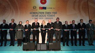 """Göbeklitepe resmen açıldı: Erdoğan """"Hedef 70 milyon turist"""" dedi"""