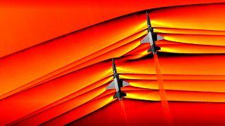 NASA: Θεαματικές φωτογραφίες αεροσκαφών που «σπάνε» το φράγμα του ήχου