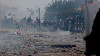 Zusammenstöße zwischen Anti-Bouteflika-Demonstranten und Polizei in Algier