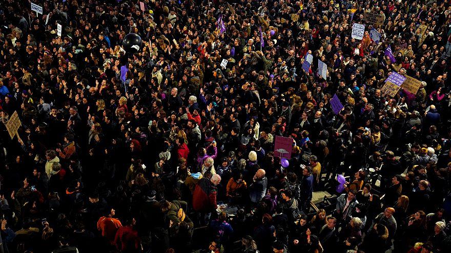 Madrid ganz feministisch