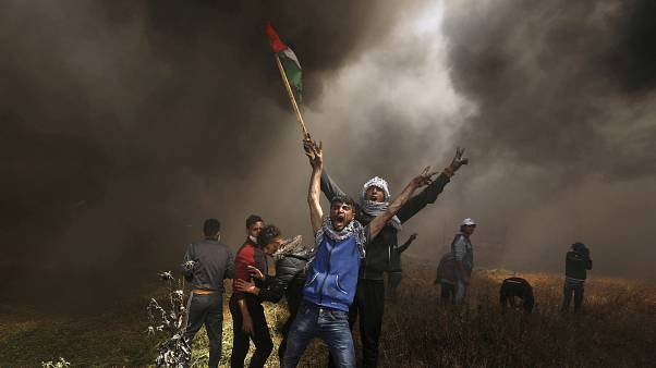 مظاهرات سابقة في غزة