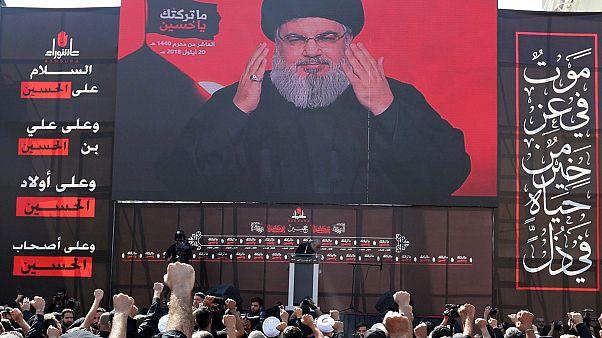 مؤتمر سابق لزعيم حزب الله حسن نصر الله