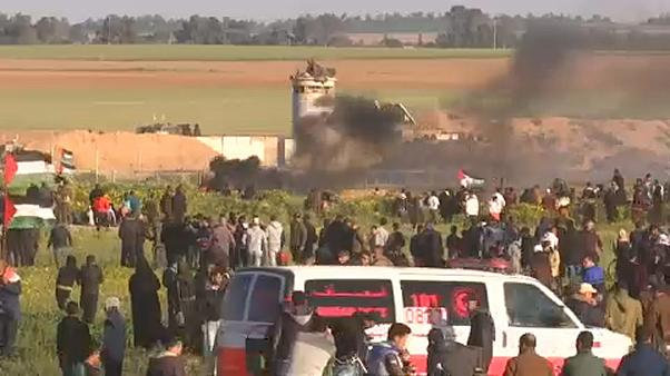 Nuevo viernes de protestas en la franja de Gaza deja un palestino muerto