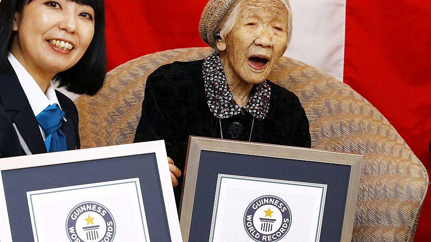 Γυναίκα από την Ιαπωνία ο γηραιότερος άνθρωπος του κόσμου