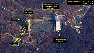 Corea del Norte podría estar preparando un lanzamiento de misiles