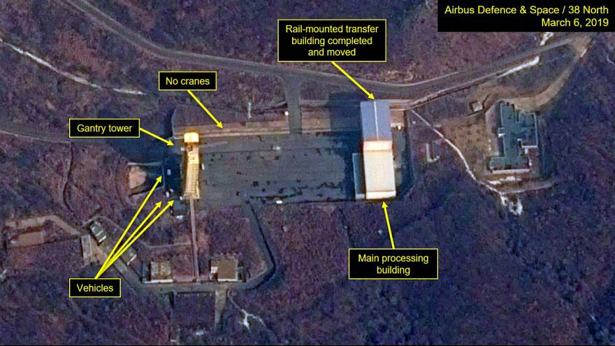 US images suggest N Korea may be about to launch satellite