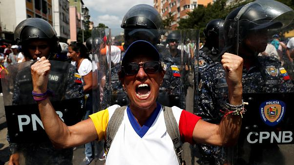 Tension mounts in Venezuela over rival protests