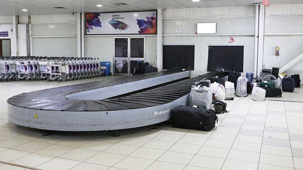 إغلاق مطار طرابلس بليبيا بسبب طائرة مسيرة مجهولة الهوية