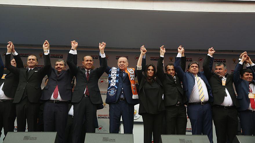 Cumhurbaşkanı Erdoğan: Ezana ıslıklarla, sloganlarla terbiyesizlik ettiler