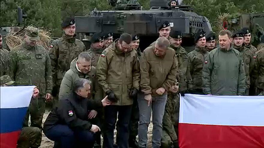 NATO-csatlakozásuk évfordulóját ünnepelték a V4-ek