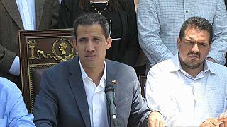 Guaidó pedirá que se decrete estado de alarma nacional en Venezuela