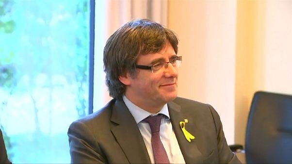 Puigdemont, candidato independentista en las europeas