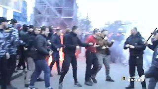 Ukrajna: szélsőjobbos szervezetek törtek-zúztak