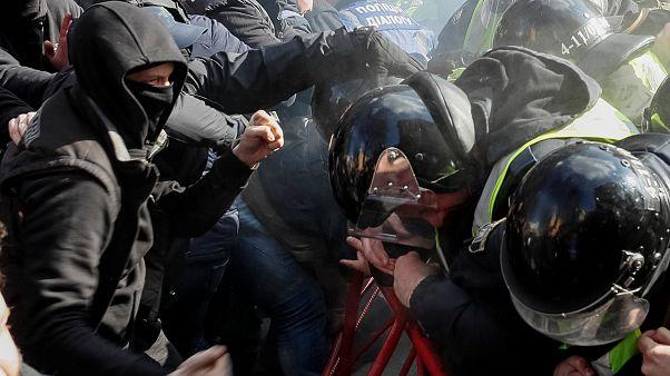Стычки в Черкассах: двое задержаны