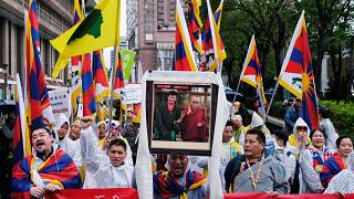 Tibetan exiles mark 60th anniversary of failed uprising
