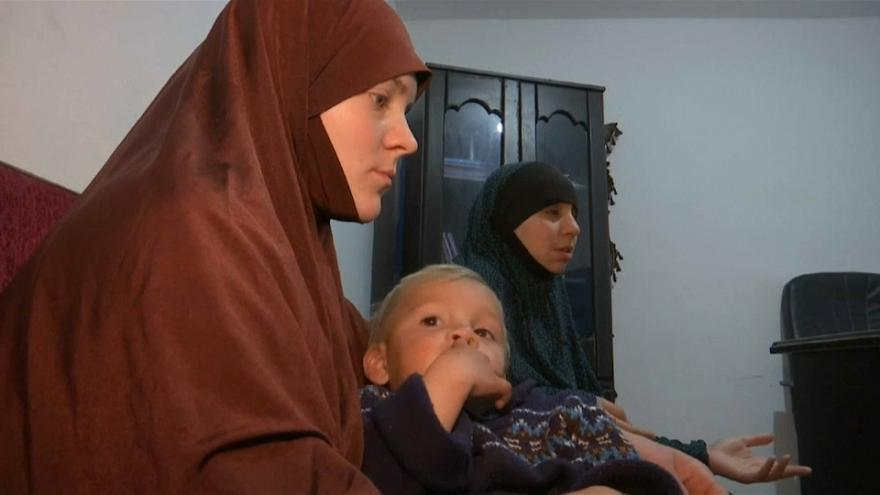 Belgische IS-Frauen bleiben in Syrien
