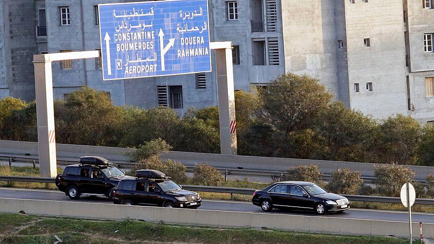 President Bouteflika arrives back in Algiers amid protests