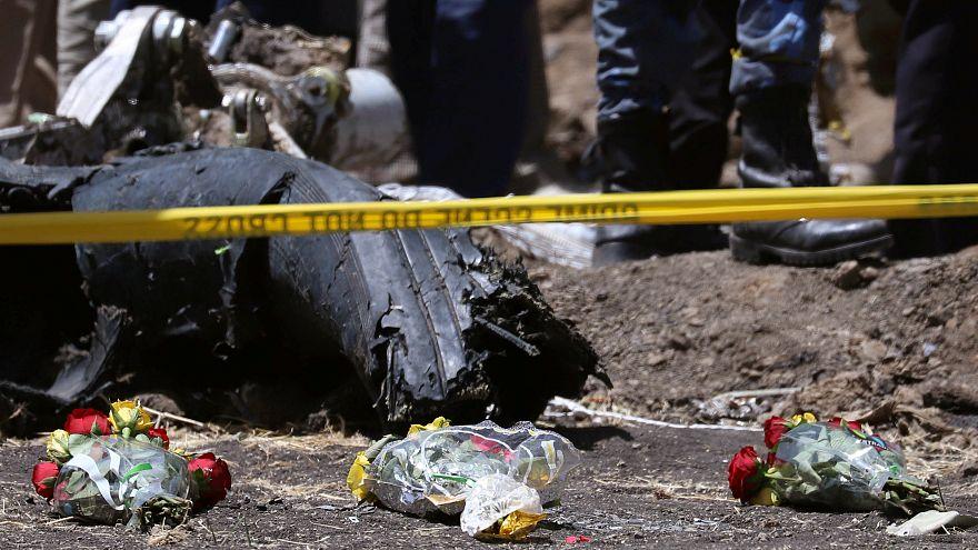 Halladas las cajas negras del avión accidentado en Etiopía