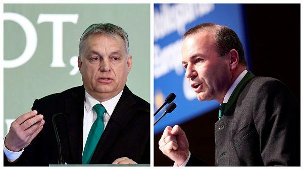 Kedden találkozik Orbán és Weber