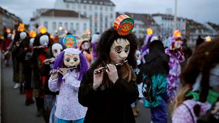 Bâle donne le coup d'envoi de son Carnaval