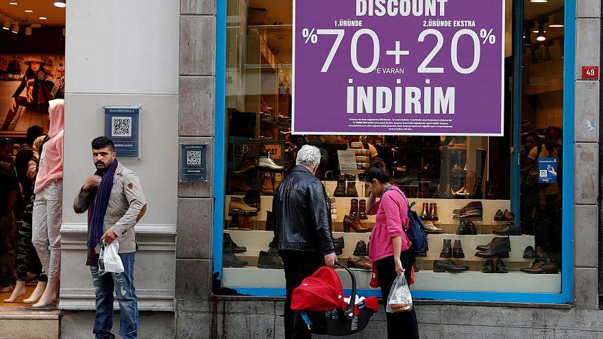La Turchia in recessione economica