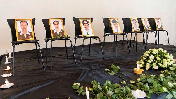 Le deuil après le crash d'un avion en Ethiopie