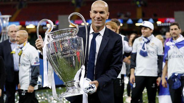 زين الدين زيدان يعود رسمياً لتدريب ريال مدريد