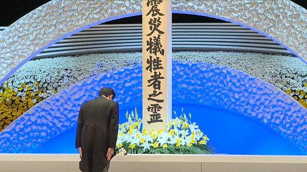 Japonya depreminin 8'inci yılında hayatını kaybedenler törenle anıldı