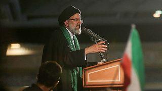 رجل الدين إبراهيم رئيسي رئيس السلطة القضائية في إيران