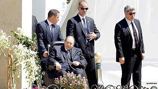 Abdelaziz Bouteflika à Alger le 9 avril 2018