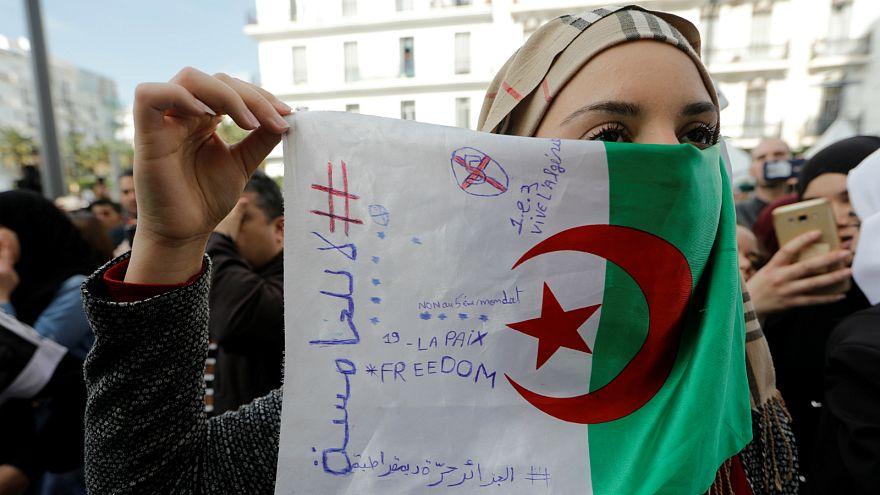 جانب من المظاهرات الجزائرية
