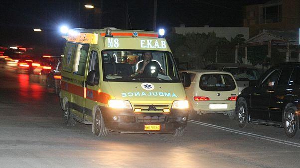 Αιγάλεω: Έντεκα τραυματίες σε σύγκρουση λεωφορείων