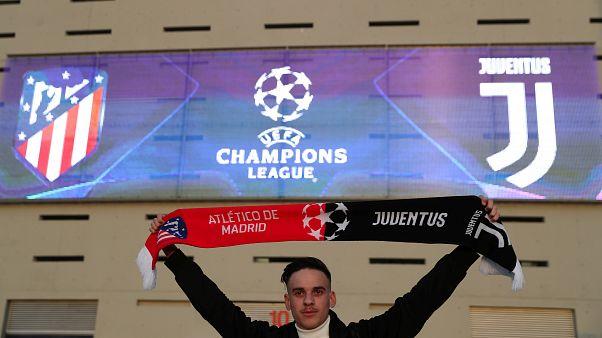 La Juventus busca doblegar al Atletico para mantener el sueño europeo