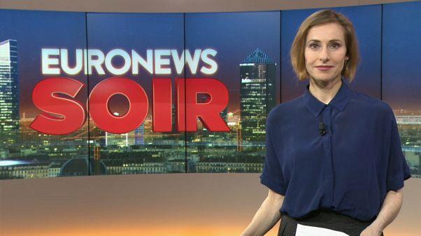 Euronews Soir : l'actualité de ce lundi 11 mars