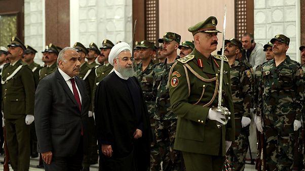 İran Cumhurbaşkanı Hasan Ruhani Bağdat'ta